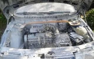 Помыли двигатель машина не заводится