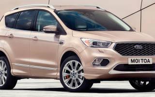 Технические характеристики новый ford kuga