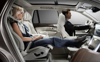Какое место в автомобиле самое безопасное
