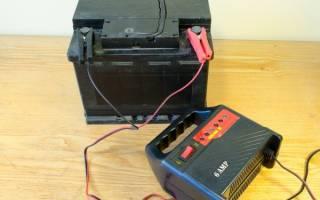 Как зарядить новый аккумулятор