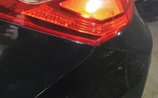 Ремонт царапин на авто