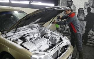 Можно ли мыть двигатель