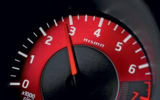 Максимальные обороты двигателя