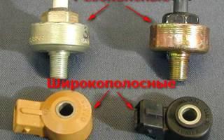 Как влияет датчик детонации на работу двигателя