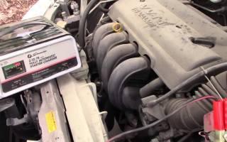 Как зарядить севший аккумулятор автомобиля