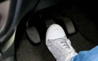 Проваливается педаль тормоза ваз 2114