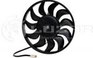 Моторчик радиатора охлаждения