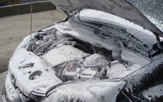 Помыл двигатель загорелся чек