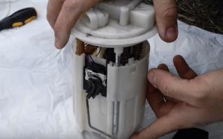 Как проверить бензонасос на ваз 2110 инжектор 8 клапанов