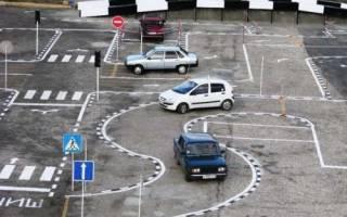 Как правильно сдать экзамен по вождению на автодроме
