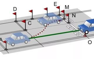 Как правильно парковаться задним ходом между автомобилями новичкам