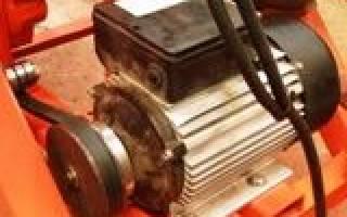 Схема пуска двигателя