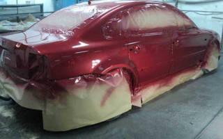 Подготовка авто под покраску