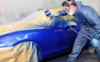 Сколько стоит перекрасить машину в другой цвет