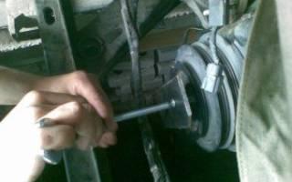 Как открутить шкив коленвала ваз 2109