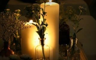 Свечи цвет значение