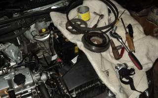 Стук в двигателе при повышении оборотов