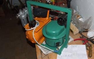 Компрессор от холодильника для покраски
