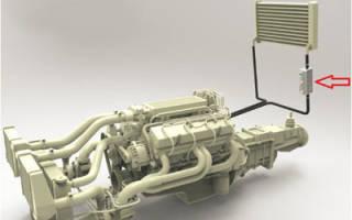 Схема установки подогревателя лунфей