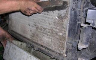 Промывка системы охлаждения калина