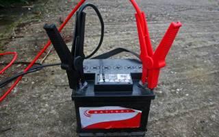 Подзарядка необслуживаемого аккумулятора автомобиля в домашних условиях