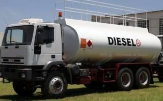 Машины на дизельном топливе