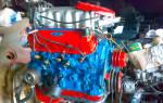 Краска для двигателя автомобиля