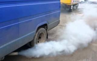 Почему машина дымит