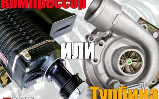 Разница между турбиной и компрессором