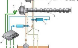 Муфта изменения фаз газораспределения