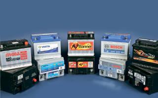 Параметры аккумуляторной батареи