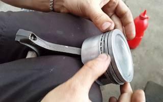 Правильная установка поршневых колец