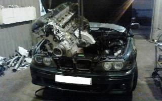 Как заменить двигатель автомобиля