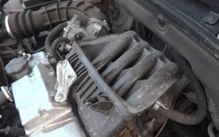 Троит двигатель горит чек калина