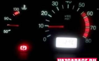 Какие обороты двигателя должны быть на холостом ходу ваз 2110 инжектор