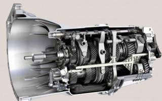 Схема механической коробки передач
