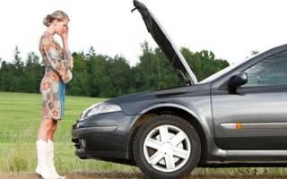 Почему при торможении машина глохнет
