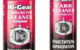 Очиститель карбюратора hi gear