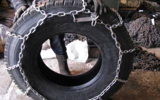 Резиновые цепи на колеса