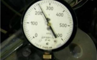 Как измерить давление в рампе топливной