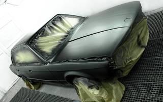 Как правильно развести грунтовку для покраски авто