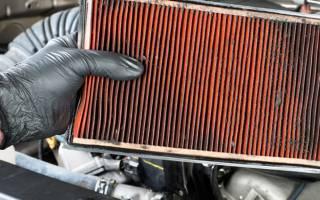 Как менять воздушный фильтр