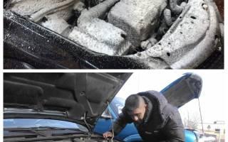 Помыл двигатель машина не заводится