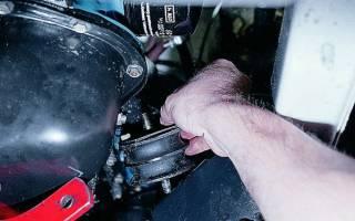 Подушка двигателя задняя