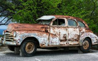 Обработка ржавчины на кузове автомобиля своими руками