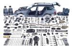 Из каких частей состоит автомобиль