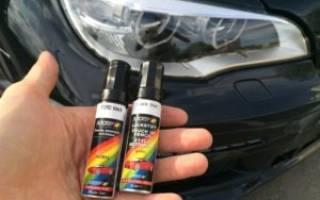 Покраска сколов на автомобиле